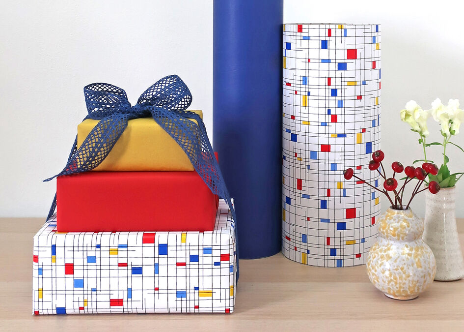 counter rolls gift wrap